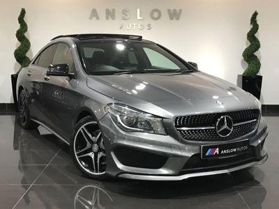 Mercedes-Benz CLA Class Coupe 1.8 CLA200 CDI AMG Sport 7G-DCT 4dr
