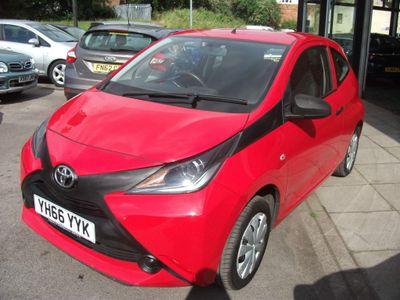 Toyota AYGO Hatchback 1.0 VVT-i x 3dr EU5
