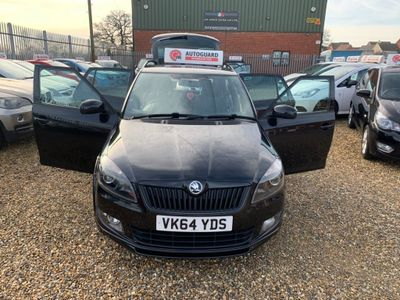 SKODA Fabia Estate 1.2 TSI Black Edition 5dr