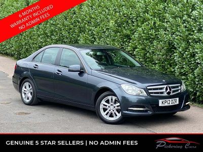 Mercedes-Benz C Class Saloon 1.6 C180 BlueEFFICIENCY SE (Executive) 7G-Tronic Plus 4dr