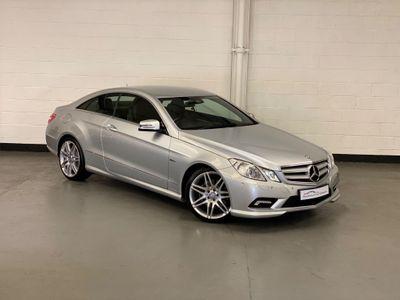 Mercedes-Benz E Class Coupe 2.1 E250 CDI BlueEFFICIENCY Sport 2dr