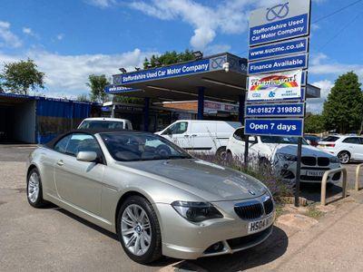 BMW 6 Series Convertible 4.4 645Ci V8 Convertible 2dr Petrol Automatic (279 g/km, 333 bhp)
