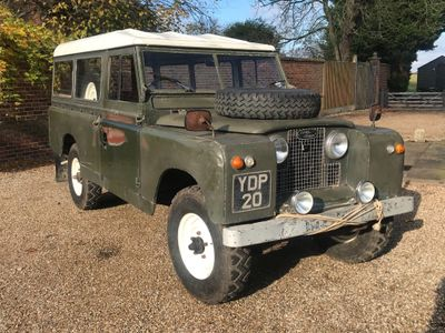 Land Rover Series II SUV