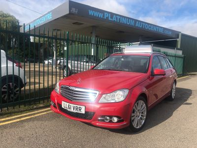 Mercedes-Benz C Class Estate 2.1 C220 CDI BlueEFFICIENCY Edition Edition 125 G-Tronic 5dr