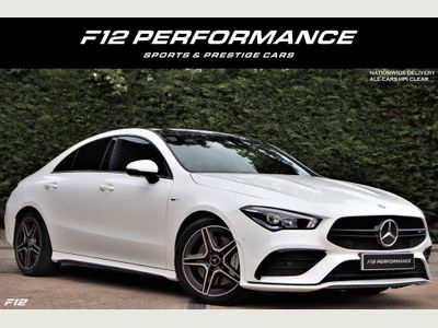 Mercedes-Benz CLA Class Coupe 2.0 CLA35 AMG 7G-DCT 4MATIC (s/s) 4dr