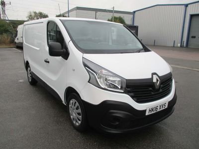 RENAULT TRAFIC Panel Van 1.6 dCi 29 Business L1H1 5dr (Ready 4 Work Storage)