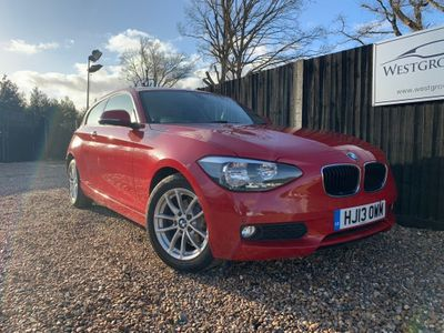 BMW 1 Series Hatchback 2.0 118d SE Sports Hatch 3dr