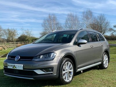 Volkswagen Golf Estate 2.0 TDI BlueMotion Tech Alltrack 4MOTION (s/s) 5dr