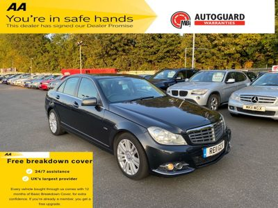 Mercedes-Benz C Class Saloon 2.1 C220 CDI BlueEFFICIENCY Elegance 4dr