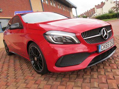 Mercedes-Benz A Class Hatchback 2.1 A220d AMG Line (Premium) 7G-DCT 4MATIC (s/s) 5dr