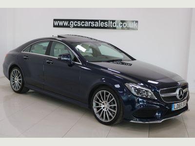 Mercedes-Benz CLS Coupe 3.0 CLS350d V6 AMG Line (Premium Plus) G-Tronic+ (s/s) 4dr