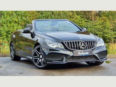 Mercedes-Benz E Class Convertible 2.1 E220 CDI AMG Sport Cabriolet 7G-Tronic Plus 2dr