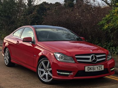 Mercedes-Benz C Class Coupe 1.8 C250 BlueEFFICIENCY AMG Sport Edition 125 7G-Tronic 2dr