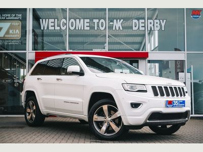 Jeep Grand Cherokee SUV 3.0 V6 CRD Overland Auto 4WD 5dr