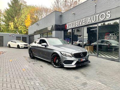 Mercedes-Benz C Class Coupe 2.1 C220d AMG Line (Premium Plus) G-Tronic+ (s/s) 2dr