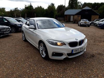 BMW 2 Series Coupe 2.0 218d M Sport (s/s) 2dr