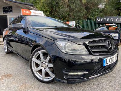 Mercedes-Benz C Class Coupe 2.1 C250 CDI AMG Sport Plus 7G-Tronic Plus 2dr