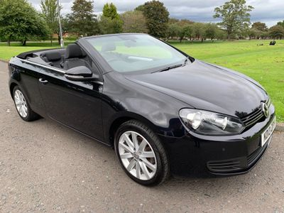 Volkswagen Golf Convertible 1.6 TDI BlueMotion Tech SE Cabriolet 2dr