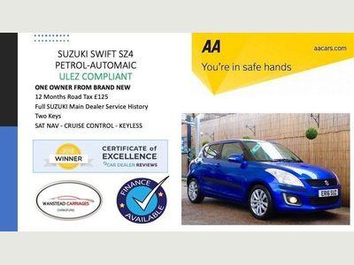 Suzuki Swift Hatchback 1.2 SZ4 AT 5dr (+Nav)