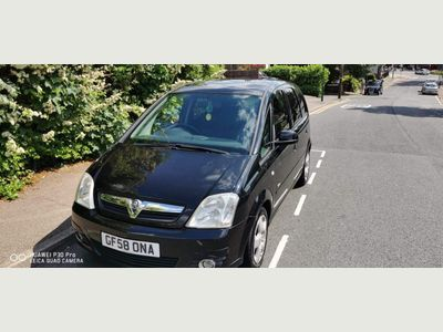 Vauxhall Meriva MPV 1.7 CDTi 16v Design 5dr (a/c)