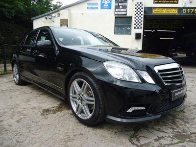 Mercedes-Benz E Class Saloon 2.1 E220 CDI BlueEFFICIENCY Sport 4dr