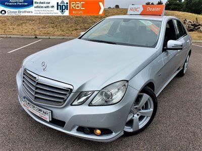 Mercedes-Benz E Class Saloon 2.1 E220 CDI BlueEFFICIENCY SE Edition 125 G-Tronic (s/s) 4dr
