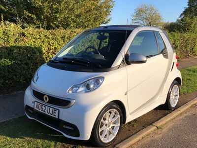 SMART FORTWO Convertible 1.0 Turbo Passion Cabriolet Softouch 2dr