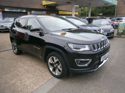 Jeep Compass SUV 1.4T MultiAirII Limited Auto 4WD (s/s) 5dr