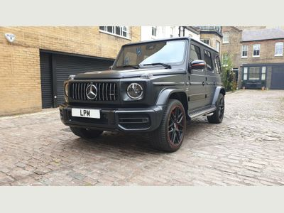 Mercedes-Benz G Class SUV 4.0 G63 V8 BiTurbo AMG Edition 1 SpdS+9GT 4WD (s/s) 5dr
