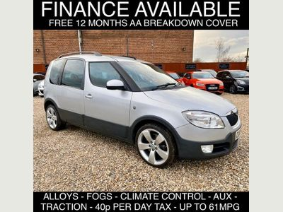 SKODA Roomster MPV 1.9 TDI PD Scout 5dr