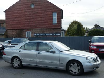 Mercedes-Benz S Class Saloon S600 V12 LWB AUTOMATIC