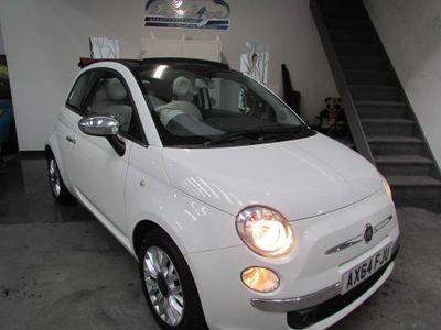 Fiat 500C Convertible 1.2 Lounge Dualogic (s/s) 2dr