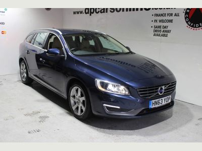 Volvo V60 Estate 2.0 D4 SE Lux Geartronic (s/s) 5dr