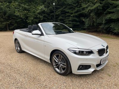 BMW 2 Series Convertible 2.0 220i GPF M Sport Auto (s/s) 2dr