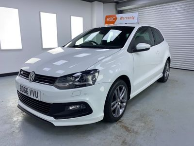 Volkswagen Polo Hatchback 1.2 TSI BlueMotion Tech R Line (s/s) 3dr