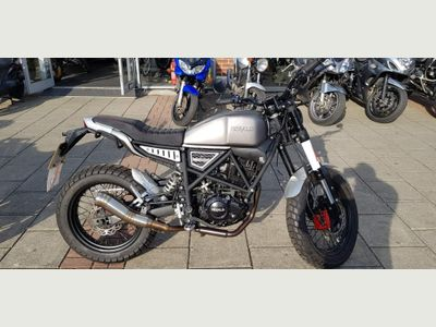 Herald Motor Co Brat Naked 125 125