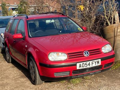 Volkswagen Golf Estate 1.6 S 5dr