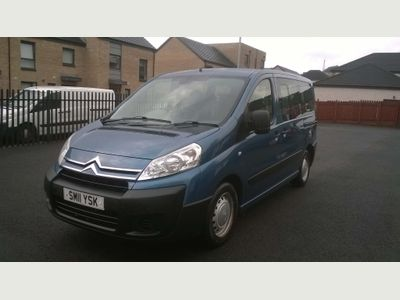CITROEN DISPATCH MPV 1.6 HDI 6 SEATER WHEELCHAIR ACCESSIBLE