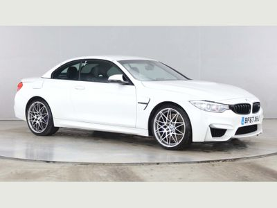 BMW M4 Convertible 3.0 (Competition Pack) M DCT (s/s) 2dr