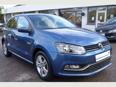 Volkswagen Polo Hatchback 1.2 TSI BlueMotion Tech Match Edition (s/s) 5dr