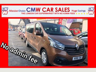 Renault Trafic Other 1.6 dCi ENERGY 29 Sport Nav L2 5dr (9 Seat)