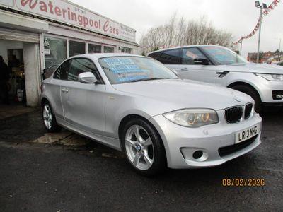 BMW 1 Series Coupe 2.0 118d Exclusive Edition Auto 2dr