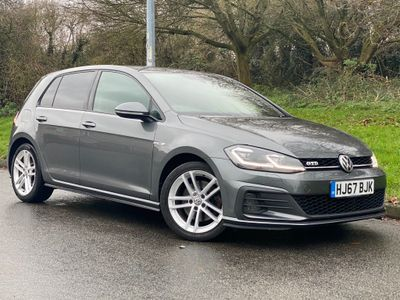 Volkswagen Golf Hatchback 2.0 TDI BlueMotion Tech GTD BlueLine DSG (s/s) 5dr