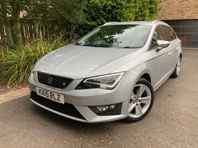 SEAT Leon Estate 2.0 TDI FR (Tech Pack) ST DSG (s/s) 5dr