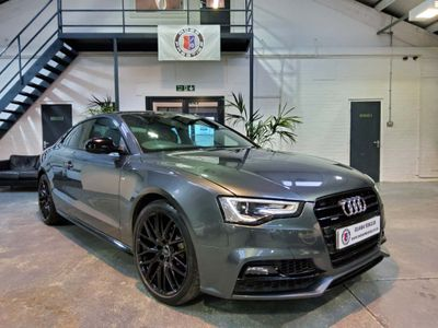Audi A5 Coupe 2.0 TDI Black Edition Plus quattro 2dr