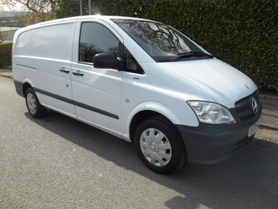 Mercedes-Benz Vito Panel Van 2.1 113CDI BlueEFFICIENCY Compact Panel Van 5dr (EU5)