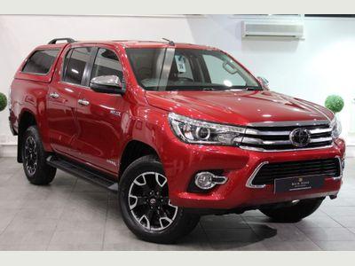 Toyota Hilux Pickup 2.4 D-4D Invincible X Double Cab Pickup Auto 4WD EU6 (s/s) 4dr (TSS, 3.5t)