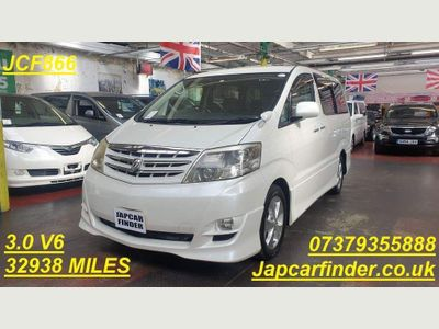 Toyota Alphard MPV 3.0 MS LIMITED ONLY 32900 MILES