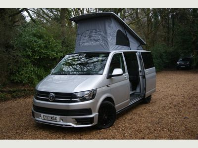 Volkswagen Transporter Van Conversion T6 TDi 150PS SWB 6 Seat 4 Berth Surfwagon Day Van