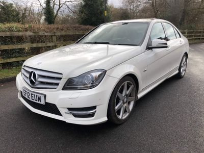 Mercedes-Benz C Class Saloon 2.1 C220 CDI BlueEFFICIENCY Sport 7G-Tronic 4dr